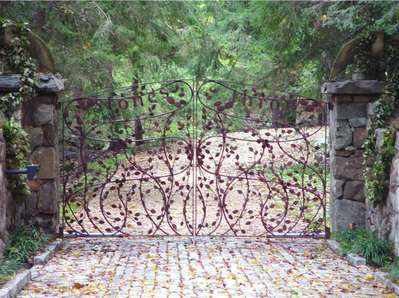 custom iron work by Tri State Gate