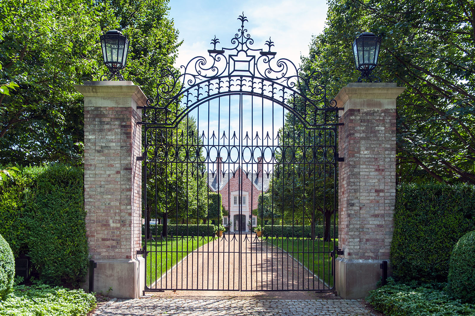 Wrought Iron Gates: Custom-designed Driveway Gates